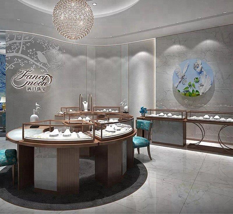 jewelry display showcase