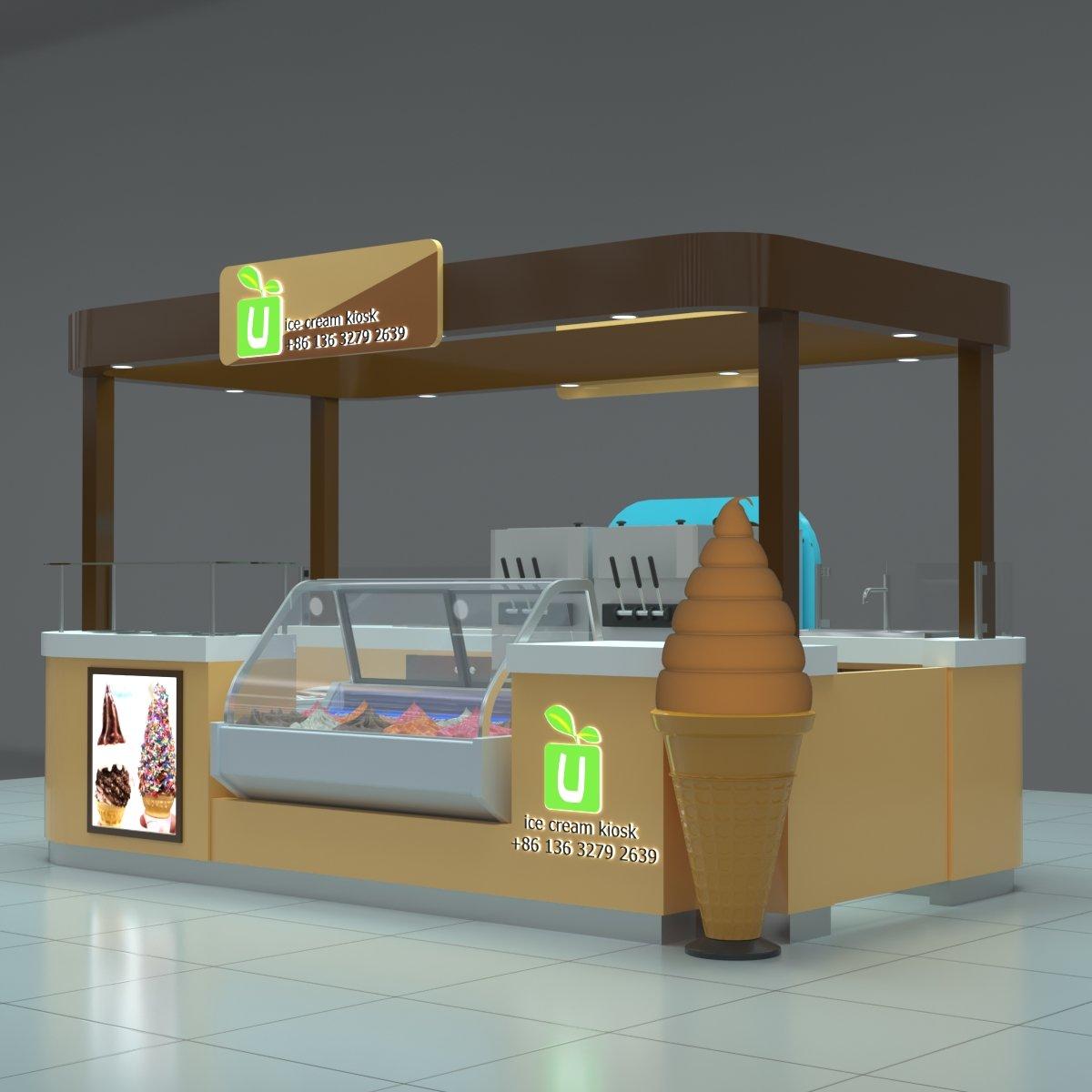 ice cream showcase