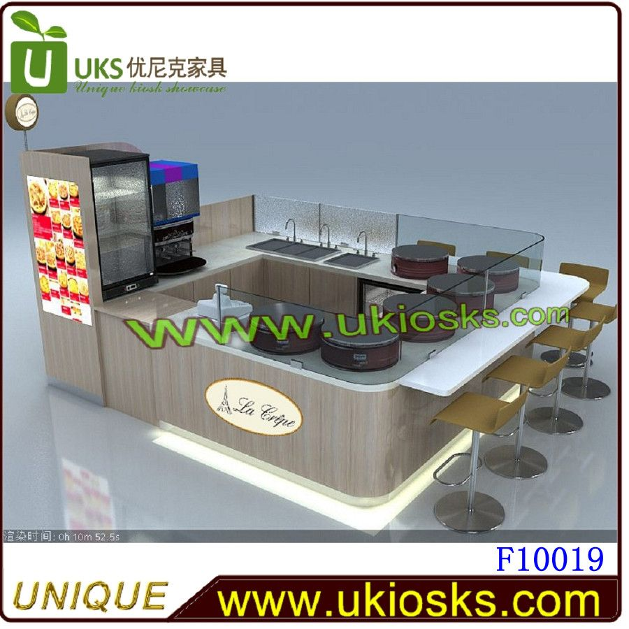 ISO approved food kiosk manufacturer/ mall kiosk manufacturers free