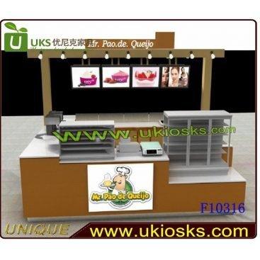 ODM design mobile food kiosk ice cream kiosk design - Mall Kiosk