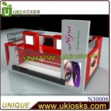 Eyebrow bar & brow threading kiosk