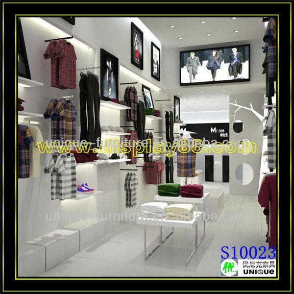 Attractive Clothing Retail Store Furniture,store Furniture