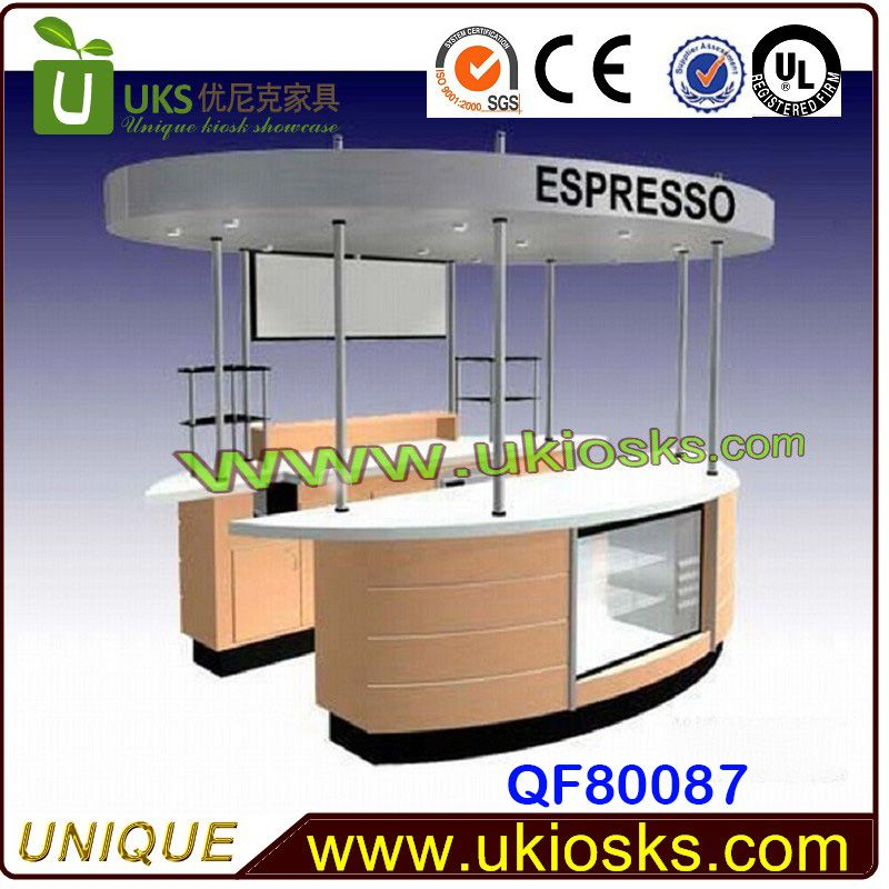 SUS304 customize outdoor food kiosk/ outdoor food kiosk