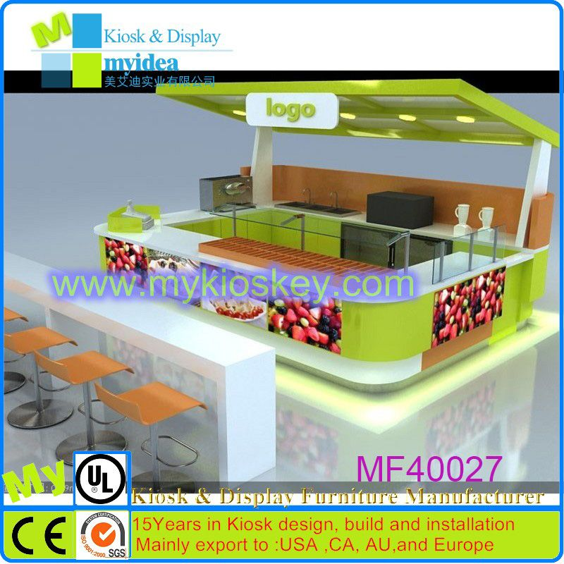 China made coffee shop counter furniture design,coffee kiosk