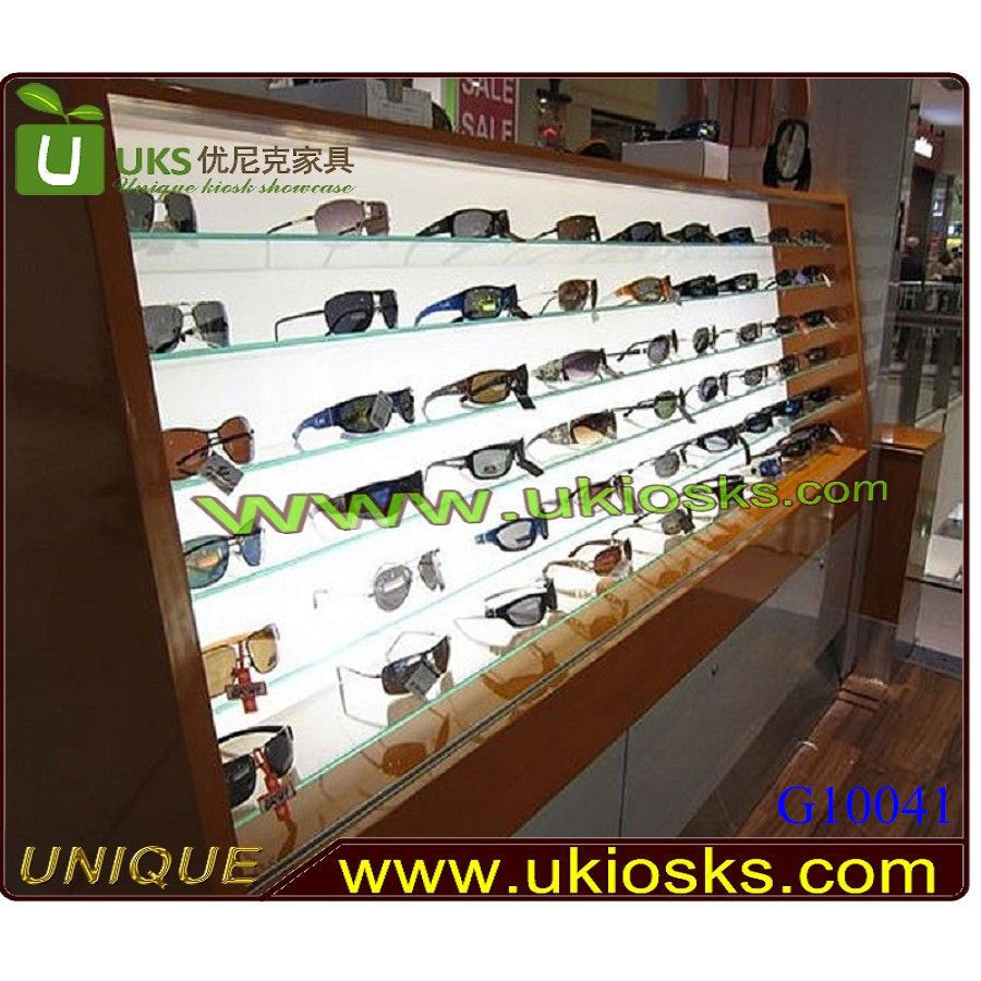 12f3cd424251 Wooden stall sunglass display stand sunglasses display case design in  sunglass s