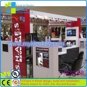 Eyebrow bar & brow threading kiosk