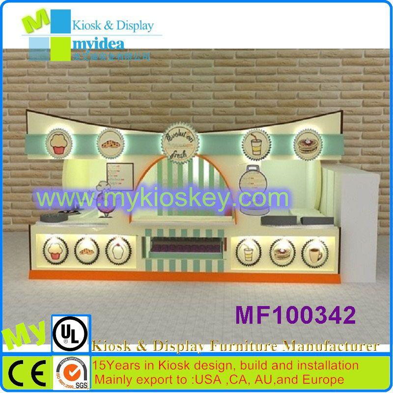 Exquisite food kiosk design/outdoor food kiosk/ice kiosk for