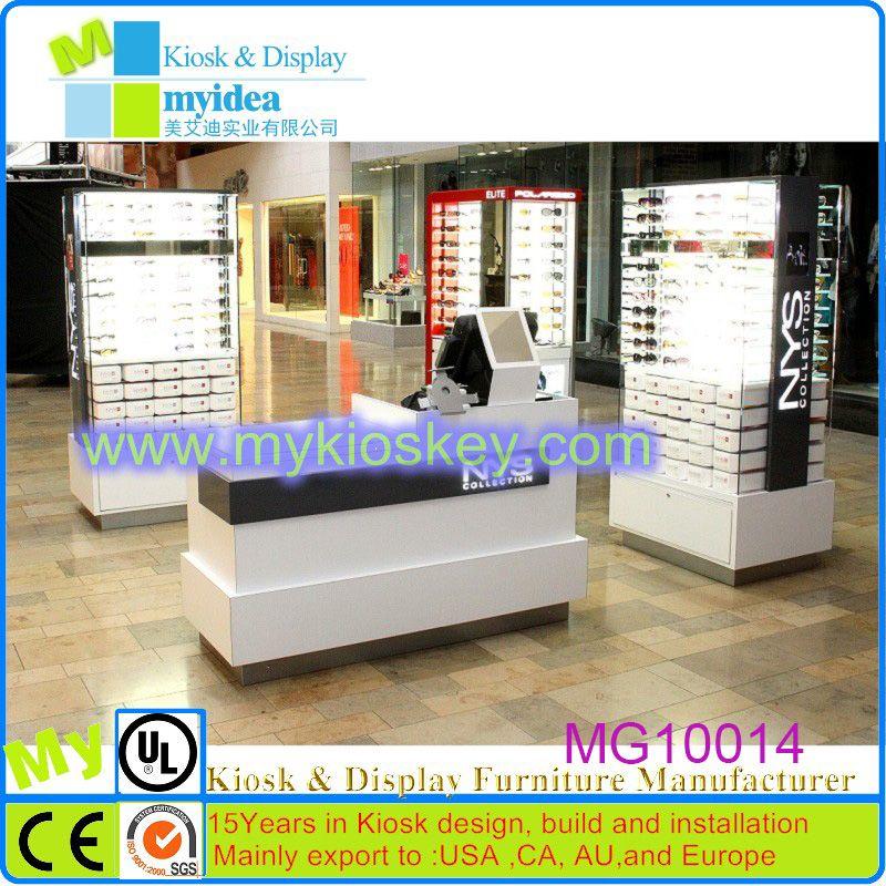 1eeb0c3b65be Fashional design sunglass display showcase glass showcase wood showcase  designs