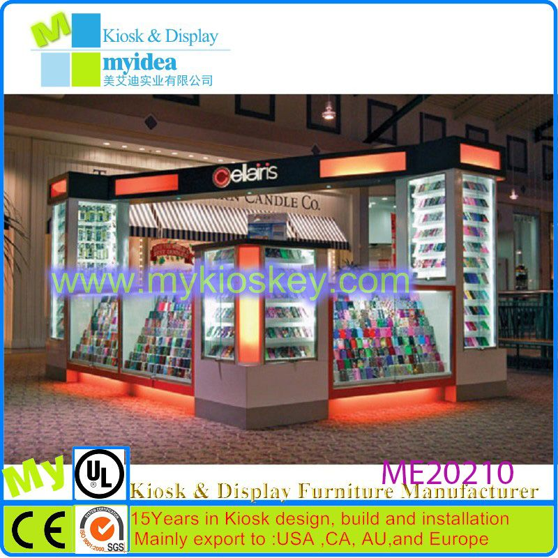 New Idea Fashion Decoration Retail Mobile Phone Shop Interior Design Mall Kiosk