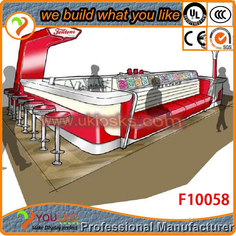 High quality food kiosk for sale/ mobile food cart design