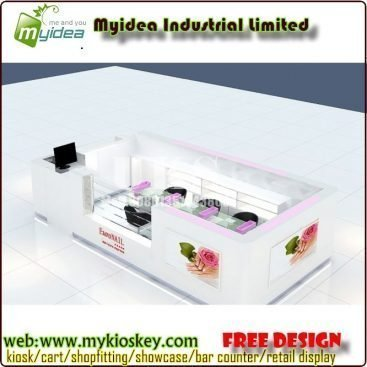 Nail Bar kiosk & Nail Table