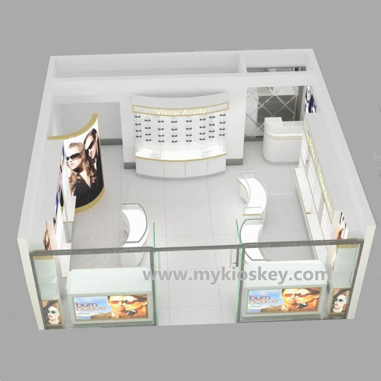Retail Optical Shop Interior Furniture And Sunglasses Shop Decoration For Sale Mall Kiosk