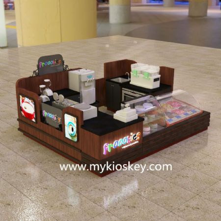 what problems you will meet to open a mall food kiosk?