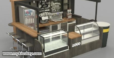 most popular wooden coffee kiosk export to Saudi Arabia