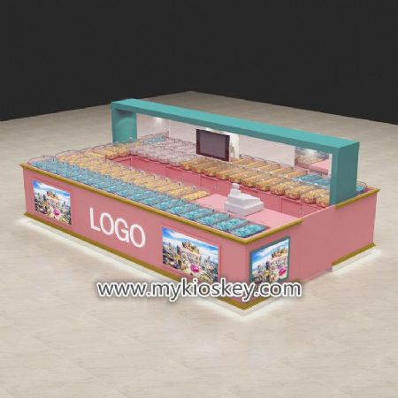 Most popular candy kiosk design export to United stated