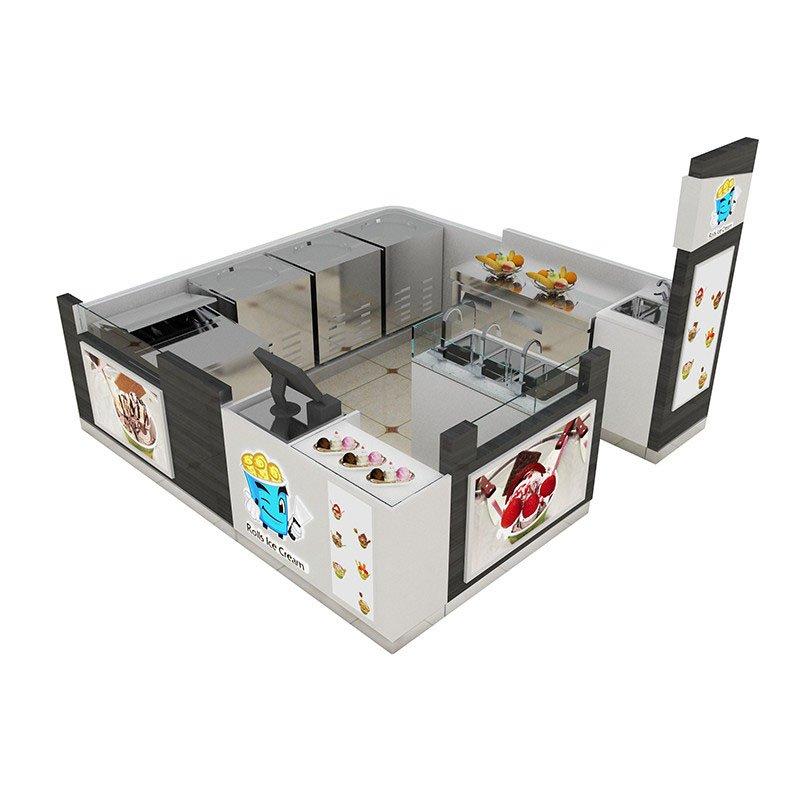 ice cream stand