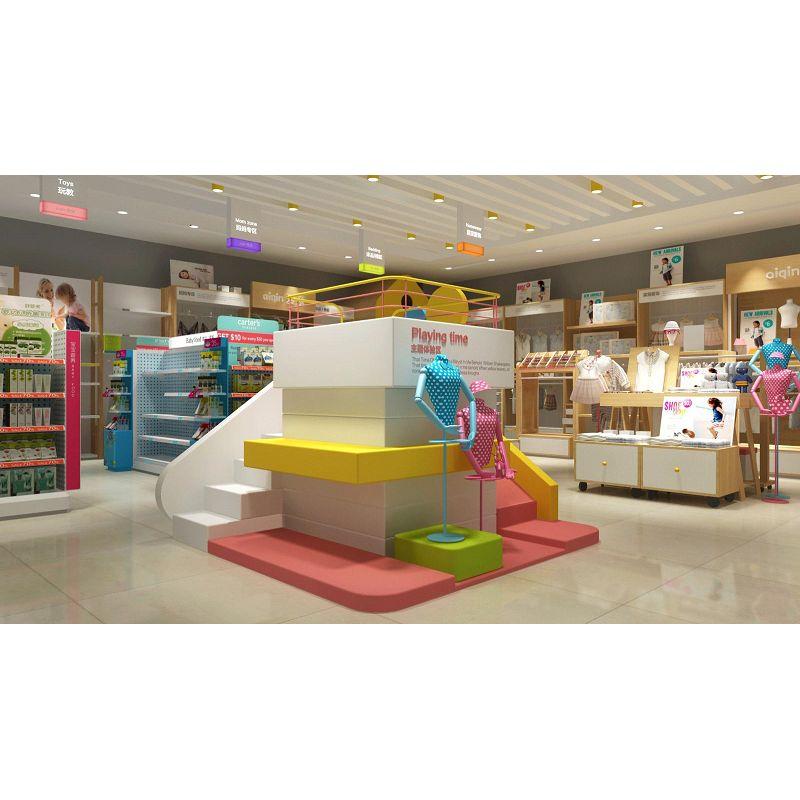 Bright Color Retail Store Furniture,beautiful Retail