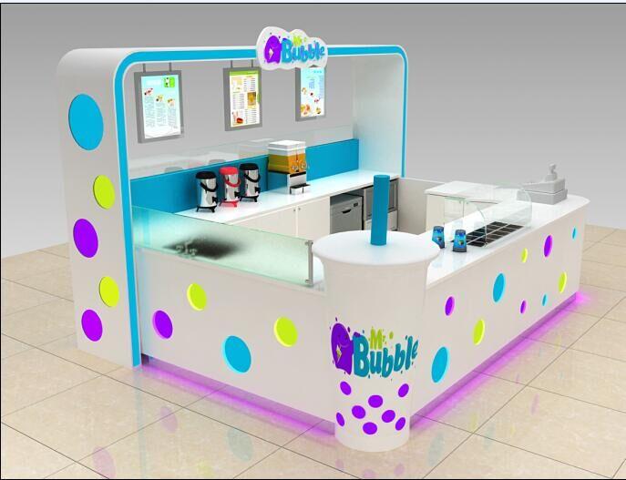 bubble tea stand