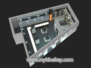 Electronic products shop design
