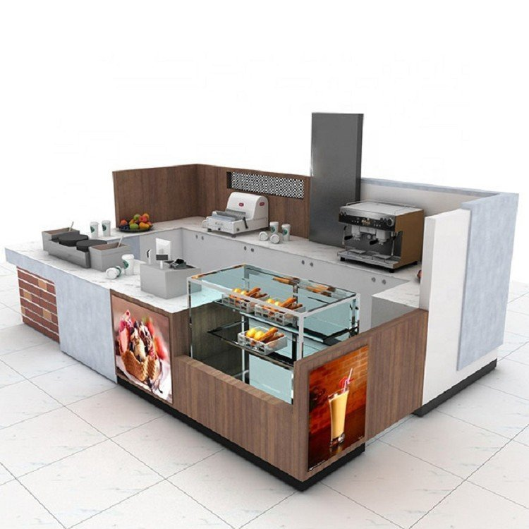 Food Kiosk Design For Sale