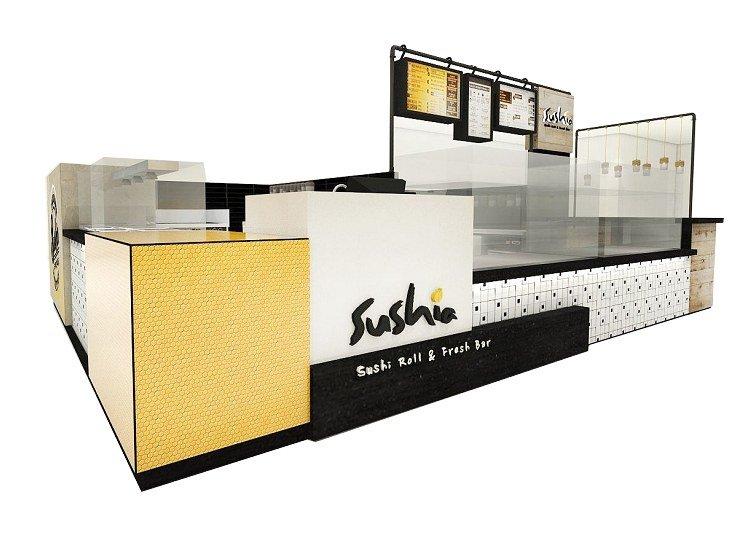 sushi kiosk design
